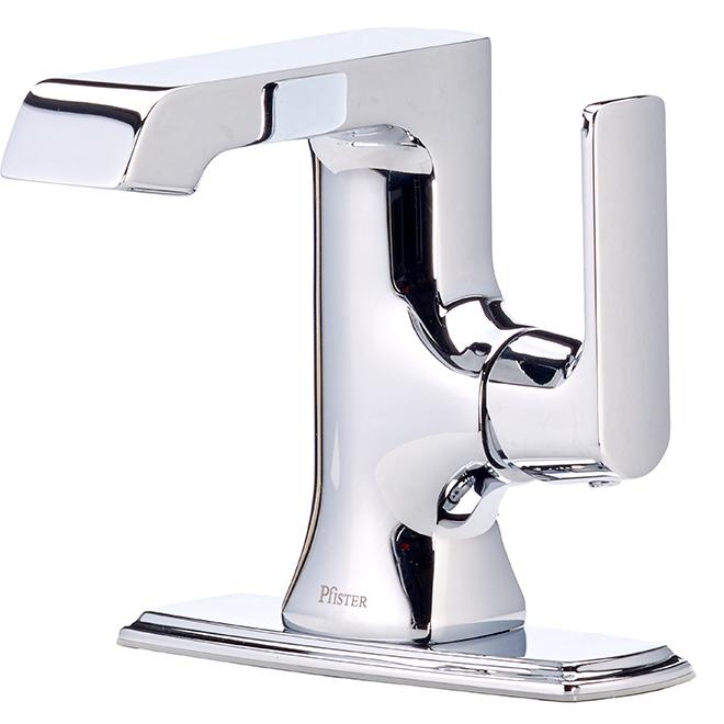 Pfister Penn Single-Lever Bathroom Faucet - Polished Chrome LF0421PEC