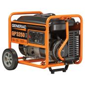 Generac GP Series 3250 W Portable Generator - 2 Outlets