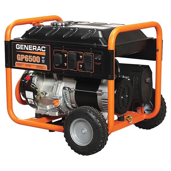 Génératrice portable Série GP 6500 W Generac, 4 prises