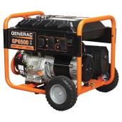 Generac GP Series 6500 W Portable Generator - 4 Outlets