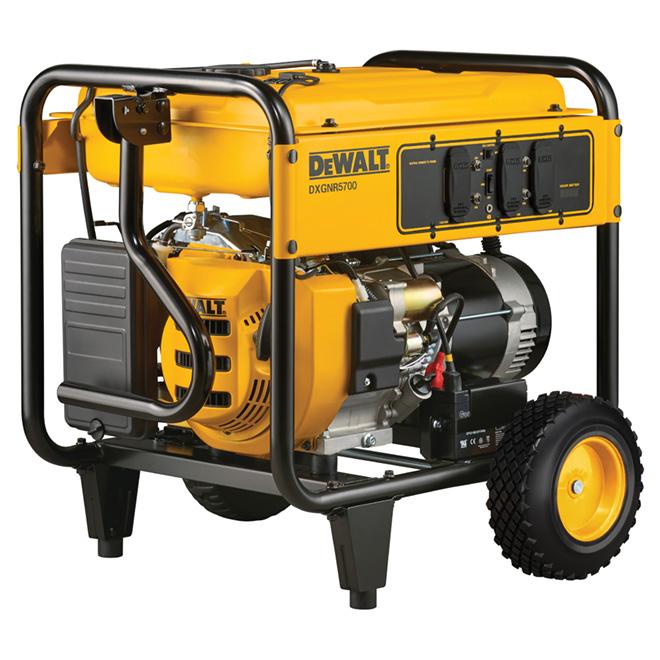 Portable Gas Generator - 389 CC - 5700W - 6.7 Gal