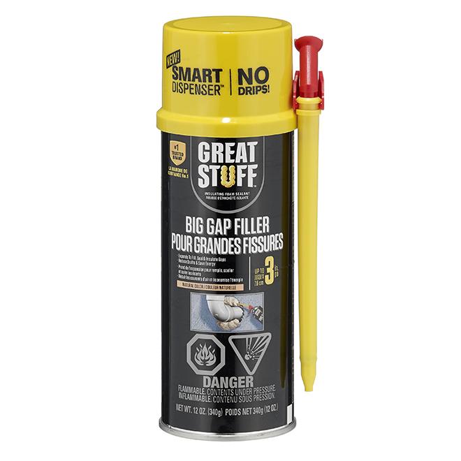 GREAT STUFF Insulating Foam - Big Gaps - 12 oz  - Cream