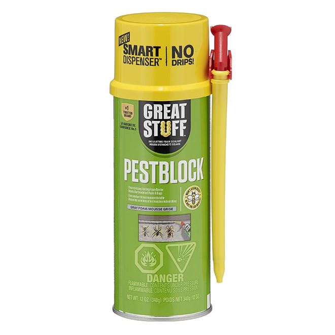 Insulating Foam - Pestblock - 12 oz. - Grey