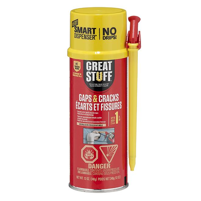 Insulating Foam - Gaps and Cracks - 12 oz. - Cream