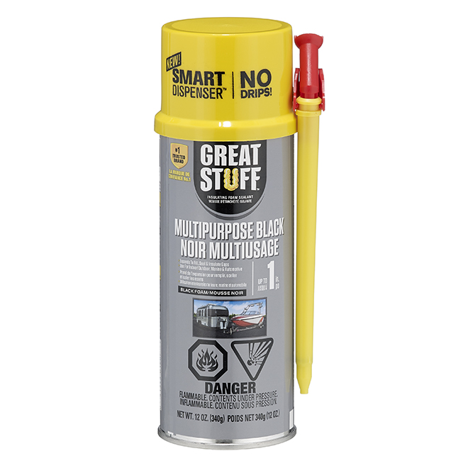 Insulating Foam - Multipurpose - 12 oz. - Black
