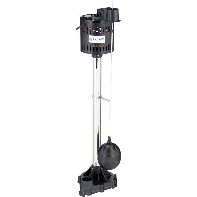 Non-Submersible Pedestal Sump Pump - 1/3 HP - 115 V
