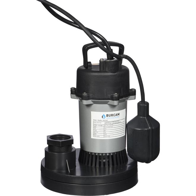 Submersible Sump Pump - 1/2 HP - 115 V