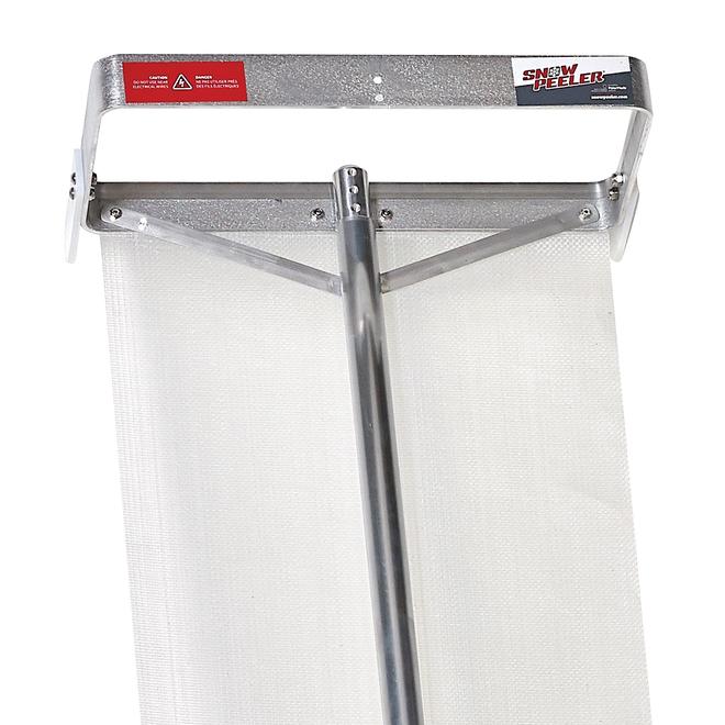 Polarmade SnowPeeler Snow Shovel For Roof - Aluminum and Stainless Steel - 20-ft