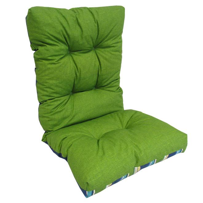 coussin chaise extérieur Coussin réversible pour chaise d'extérieur à dossier haut | RONA coussin chaise extérieur