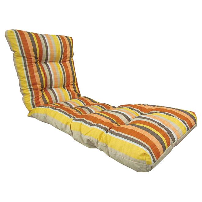 coussin chaise longue rouge Coussin pour chaise longue, réversible, rouge/corail | RONA coussin chaise longue rouge