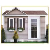 Riopel Shed - Mauricie (Dormer) - 10' x 16'
