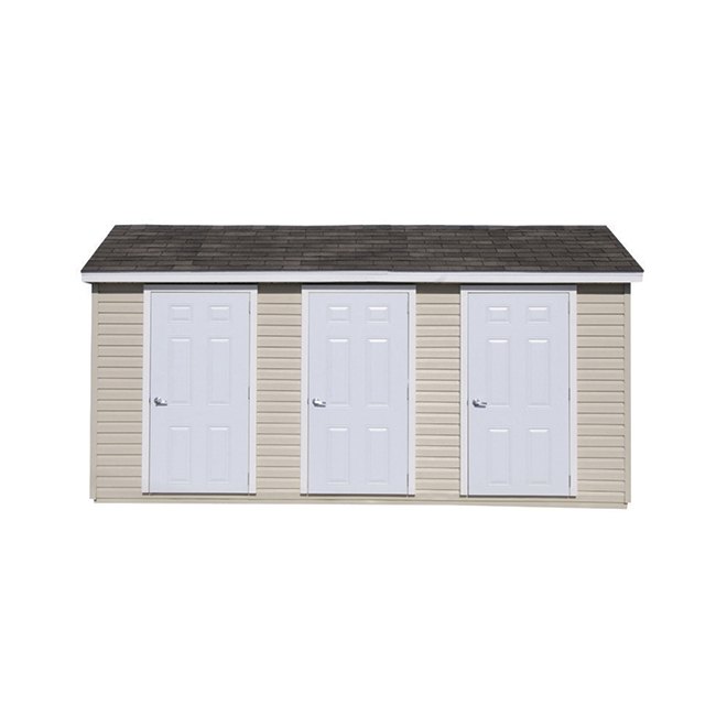 Riopel Shed - Indispensable - 8' x 12'