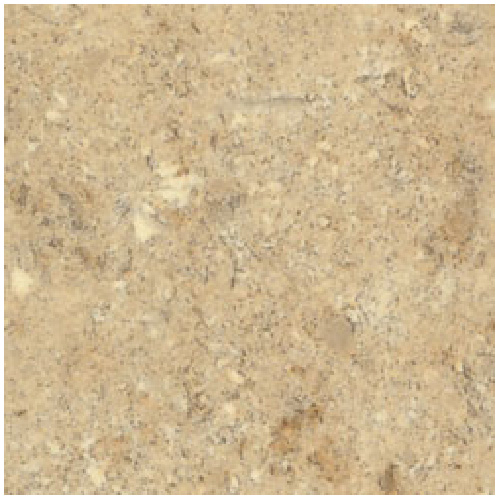 """Moulded Counter 2300, Travertine, 25"""" x 5'"""
