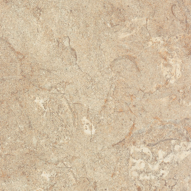 """Moulded Counter 2300, Travertine, 25"""" x 10'"""
