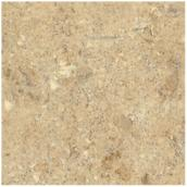 "Comptoir moulé 2300, Travertine, 25,5"" x 4'"