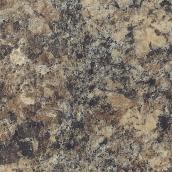 "Moulded Counter 2300, Jamocha Granite, 25"" x 4'"
