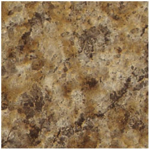 "Feuille de stratifié précollée, 30"", Butterum Granite"
