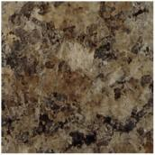 Feuille de stratifié précollé « Jamocha Granite », 30 po
