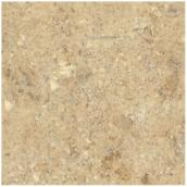 Comptoir moulé 2300, Travertine, 25,5 po x 10 pi