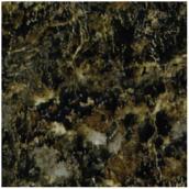 Comptoir stratifié à dosseret « Labrador Granite » - 25,5 po