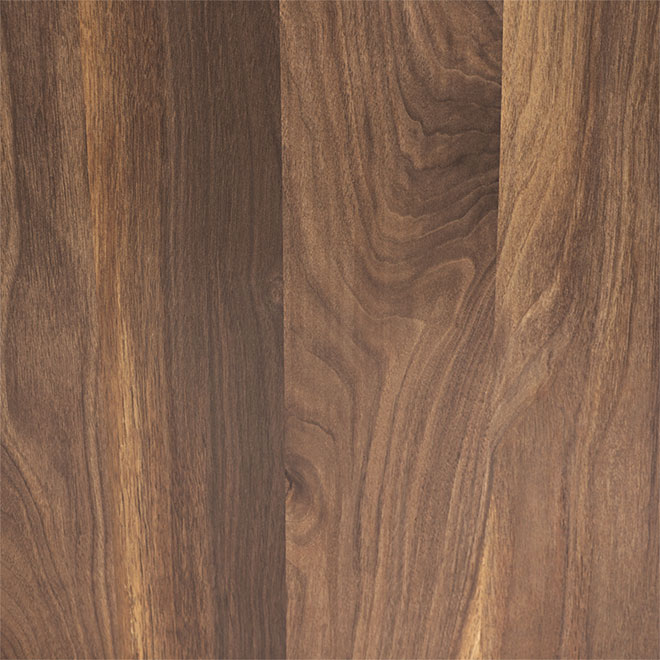 "Laminate Countertop - 1.25'' x 25.5'' x 72"" - Walnut"