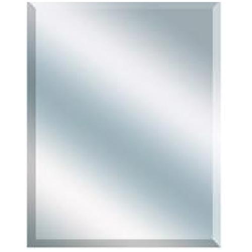 Columbia 36-in x 48-in Frameless Beveled Mirror