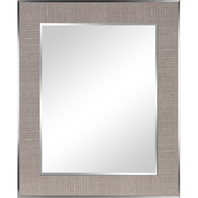 """Framed Rectangle Wall Mirror - 27 1/2"""" x 33 1/2"""""""