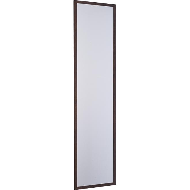 "MDF Door Mirror - 12.92"" X 49.92"" - Rustic Walnut"