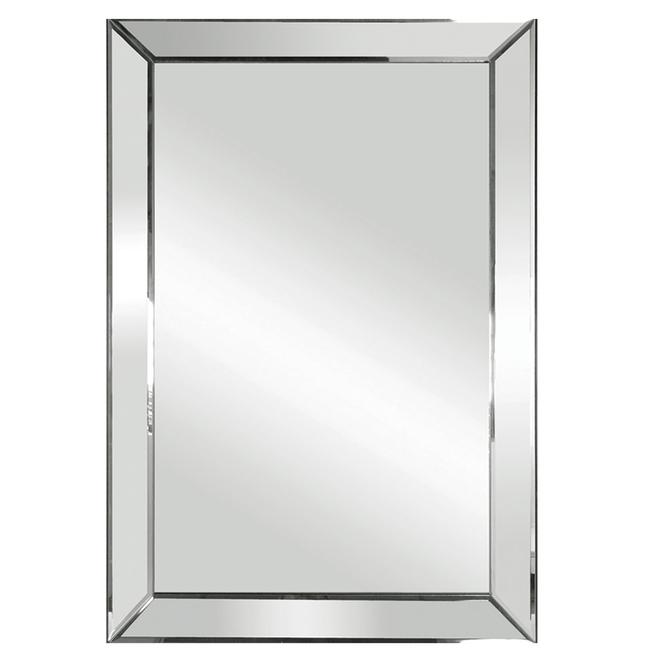 Columbia Triangular Beveled Mirror - 19-in x 26-in