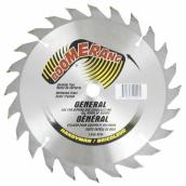 Circular Saw Blade - Carbide - General Purpose - 24 TH - 7 1/4""