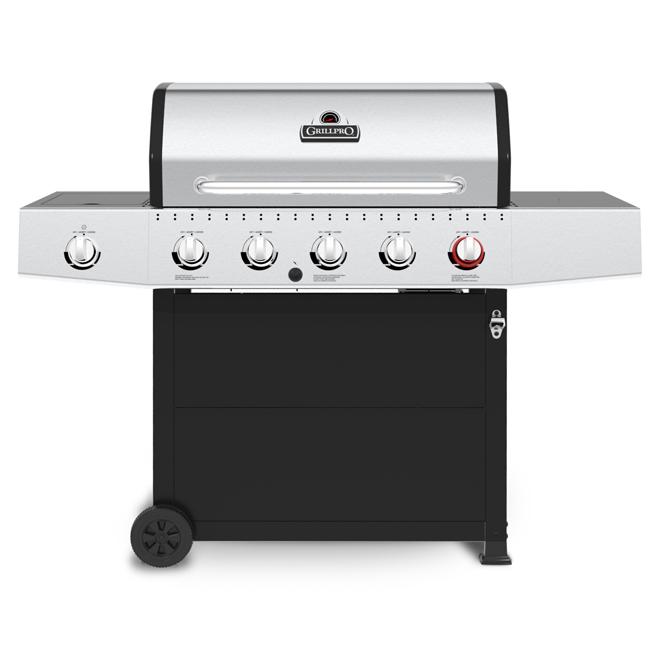 Propane BBQ - 6 Burners - 805 sq. in.
