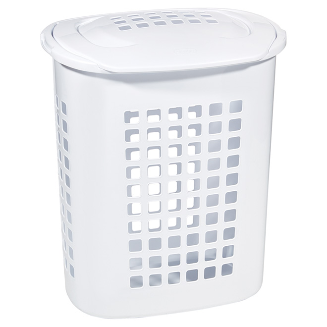 Laundry basket with Lift-Top - 81 L - White
