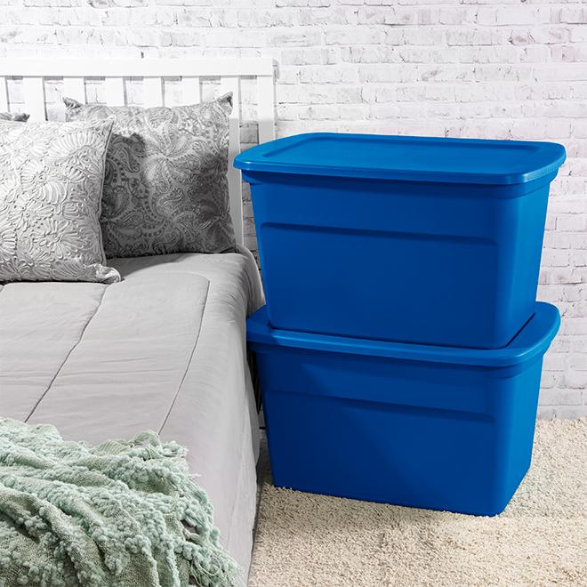 Sterlite 114-Litre Storage Box with Latch - Blue