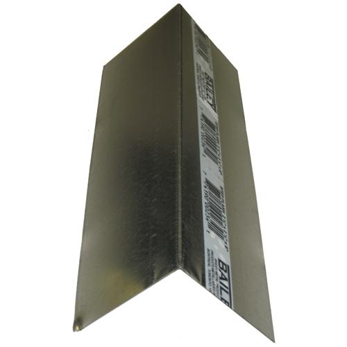 "Galvanized Steel Step Flashing 1/2"" x 2 1/2"" x 8"""