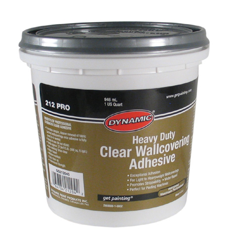 Dynamic Adhesive Clear Wallpaper Adhesive Gg6212040 Rona
