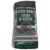 Medium-Coarse Steel Wool - #2 - 12-Pack