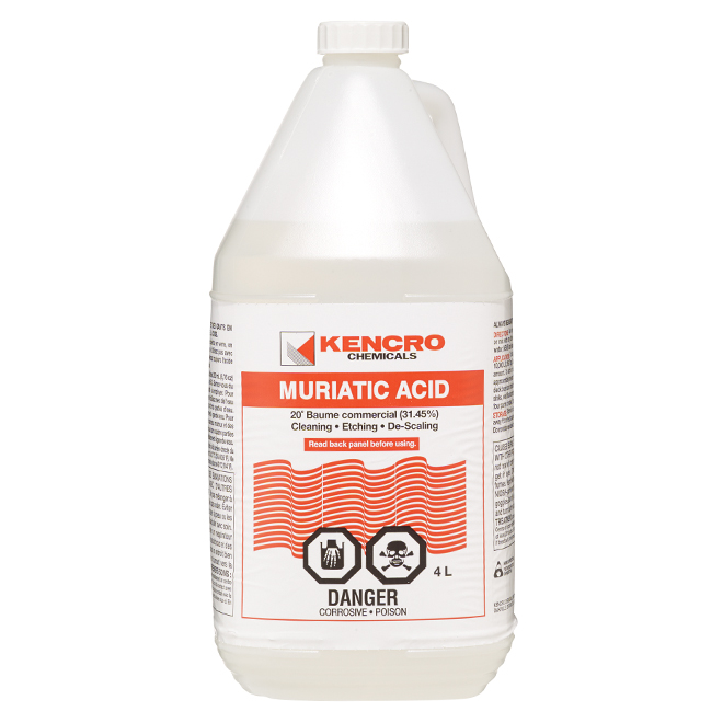 KENCRO Muriatic Acid - 4 L 307880 | RONA