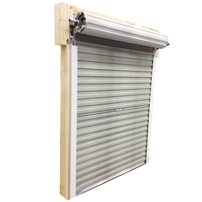 Ordinaire Roll Up Steel Door For Shed, 5 Ft X 6 Ft   White