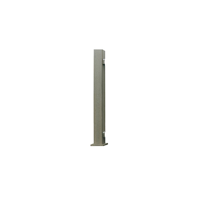 Railing Universal Post - 3 1/2 x 49'' - Composite - Grey