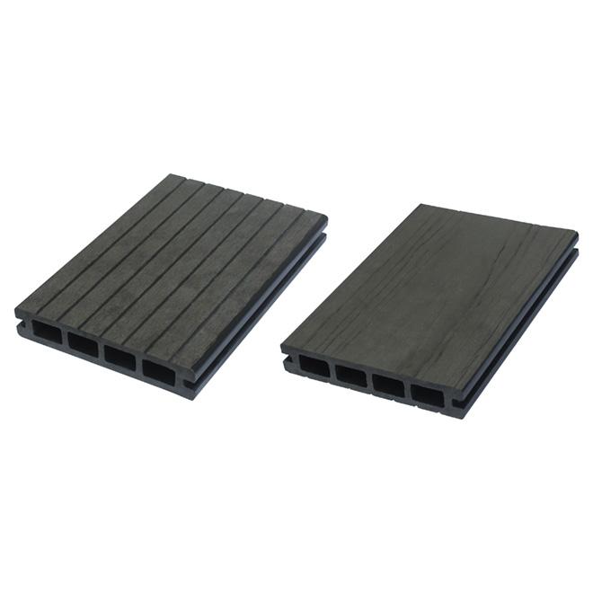 planche en composite pour terrasse l gance 12 39 gris rona. Black Bedroom Furniture Sets. Home Design Ideas