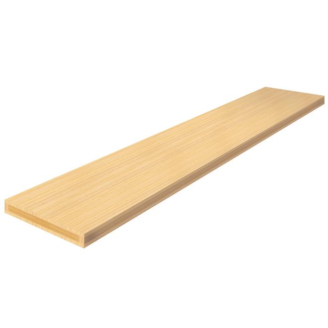 "Mantel Shelf - 72"" - Bamboo"