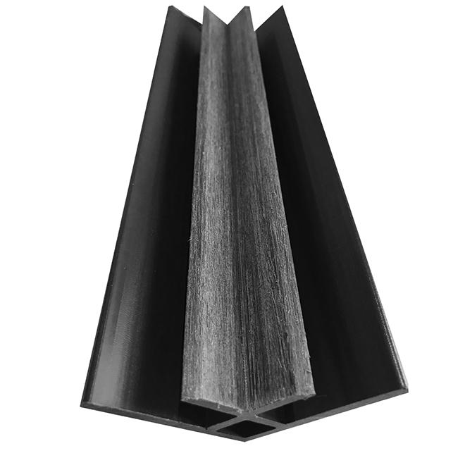 """Elegance Premium"" Interior Molding - 10' - Charcoal"
