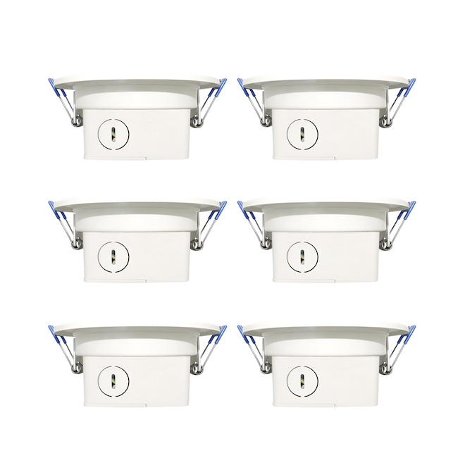 Leadvision Recessed Dimmable Lights - LED - 4-in - 10 W - 6-Pack