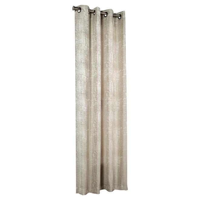 Grommet Curtain - Concrete - Taupe