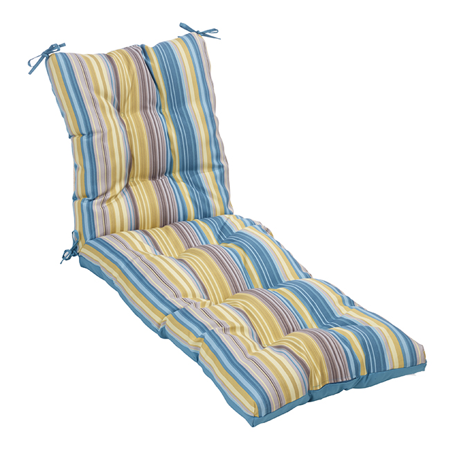 Coussin Pour Chaise Longue Polyester 72 X 23 Raye Rona