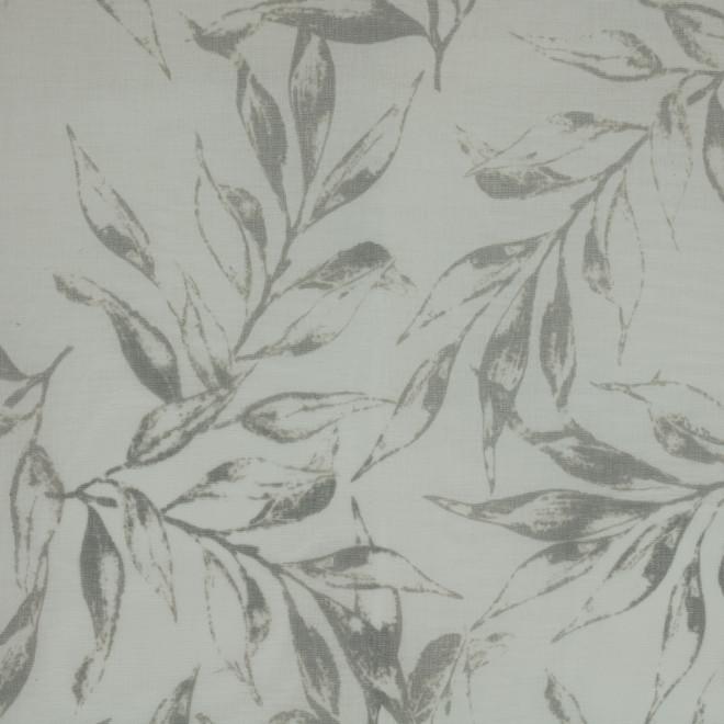 Panneau de rideau Jenny de Commonwealth 52 po x 84 po, gris