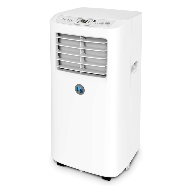 Portable 3-in-1 Air Conditioner and Dehumidifier with Remote - 8,000 BTU - 27-in - White