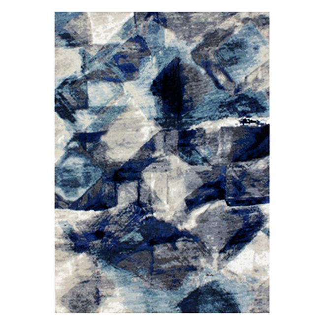 Assorted Indoor Area Rug Snow Angel Collection - Polyester 5-ft x 7-ft - Assorted