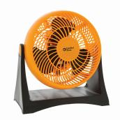 Ventilateur turbo Comfort Zone, 8'', 3 vitesses, orange