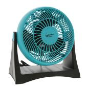 Comfort Zone Turbo Fan - 8'' - 3 Speeds - Teal